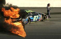 nascar pics | NASCAR Crashes (35 pics)