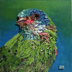 Mosaic Artwork, Mosaic Wall Art, Mirror Mosaic, Mosaic Diy, Mosaic Crafts, Mosaic Projects, Mosaic Glass, Stained Glass, Mosaic Ideas