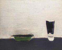 Nature morte au verre (1954) : Nicolas de Staël (1914 - 1955)