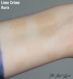 Lime Crime Aura Swatch  Full review on http://therebellipstick.com