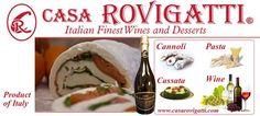 Casarovigatti.com - Great selection of #wines, #pastas & #desserts-In Stock- #Miami #Italy #imported #prosecco #cuvee #casarovigatti