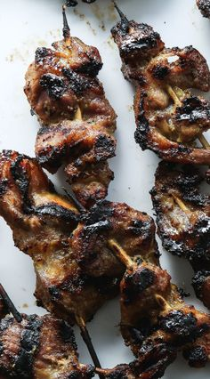Curry and Coconut Skewers recipe: This marinade is the bomb.