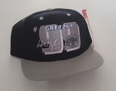 04dcf032 Vintage Wayne Gretzky #99 LA Kings Deadstock Snapback Hat NHL VTG by  StreetwearAndVintage on Etsy