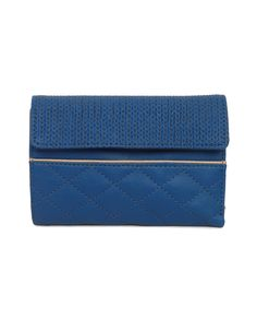 plush and luxurious wallet by Baggit sporting both hard and soft textures.