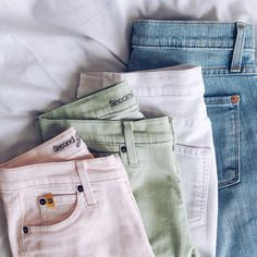 New colored Yoga Jeans for spring