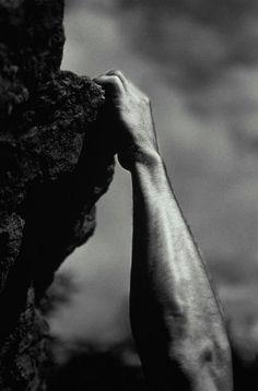 Fuerza de brazos #escalada #deporte #montaña