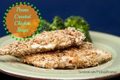 Pecan Crusted Chicken Strips, 21 Day Fix Recipe