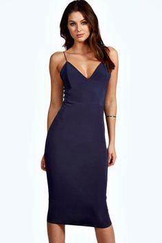 Karen Slinky Bodycon Midi Dress