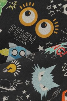 Fendi - Printed Modal-neoprene Sweatshirt - Black - IT