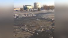 Authorities in the central Kazakh city of Temirtau have launched an investigation after a mysterious dust turned the snow black. Local residents have blamed the metallurgical complex in the area for causing the strange pollution.