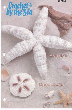 Crochet Sand Dollar and Starfish