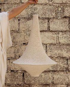 Wahad Crochet Pendant Light - Large - Hamimi Design