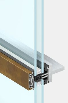4F2 is the thermally broken curtain wall available in powder coated steel, corten, stainless steel and bronze that can be fastened to an existing load bearing structure.