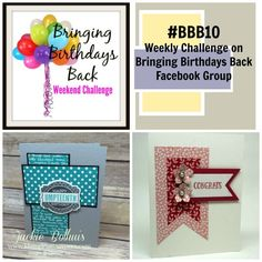 Have you played along yet???? It's so fun to see what everyone is creating with the weekly sketch challanges on the Facebook Group: Bringing Birthday Back! If you have not joined the group yet, CLICK HERE to join the fun! This group is for anyone who loves to stamp and wants to be inspired– especially …