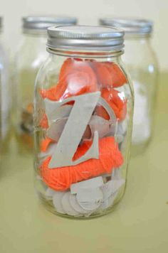 DIY Crafting kit in a mason jar gift, if it doesn't say so I would include instructions and the tools/supplies for one specific project, and definitely dress up the top of that jar somehow