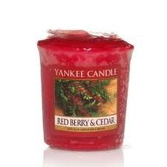 Yankee Candle Red Berry & Cedar Sampler