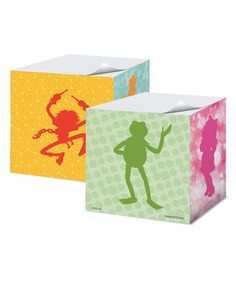 550-Page Muppets Sticky Memo Cube