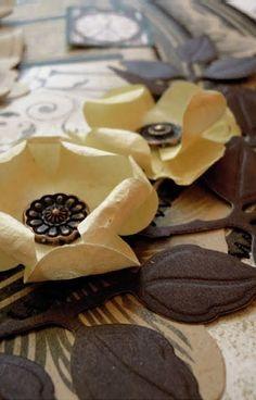 zestaw biały Scrapbooking, Desserts, Vintage, Food, Tailgate Desserts, Deserts, Essen, Postres, Meals