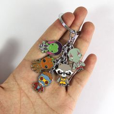 Guardians of The Galaxy Keychain - Marvel Goodies Marvel Fashion, Marvel Shoes, Marvel Clothes, Disney Jewelry, Geek Jewelry, Marvel Fan, Marvel Avengers, Gardians Of The Galaxy, Marvel Gifts