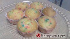 Cupcakes χωρίς αυγά και χωρίς κόπο #sintagespareas