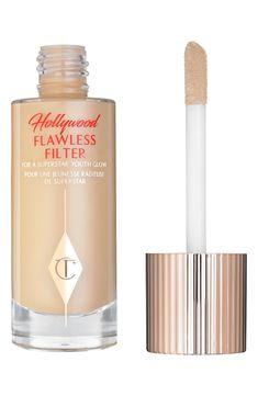 Main Image - Charlotte Tilbury Hollywood Flawless Filter for a Superstar Youth Glow Make Up Beratung, Airbrush, Maybelline, Superstar, Red Carpet Makeup, Hollywood, Perfume, Shopping, Skin Care