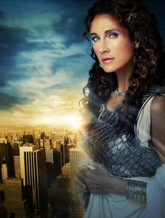 Second-generation Greek-American actress Melina Kanakaredes, my father was so in love with her~