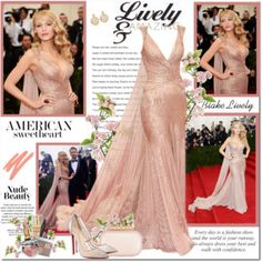 Blake Lively at Met Gala 2014!!