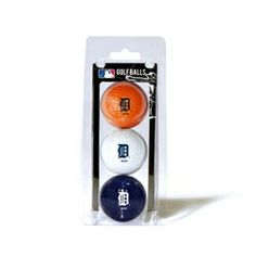 Detroit Tigers Golf Balls - 3 Pack Balls