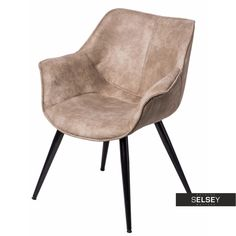 Krzesło Lord beżowe Sit Back And Relax, Techno, Lord, Accent Chairs, Furniture, Home Decor, Armchairs, Dining Room, Chairs
