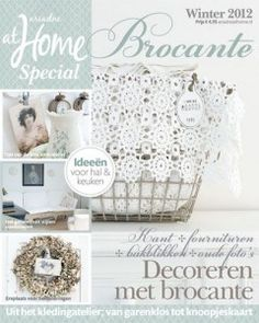 Brocante special Winter 2012, vanaf 4 december in de winkel! #magazine #cover #brocante #shabby