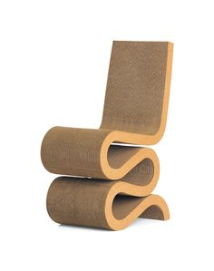 MY MAGICAL ATTIC: WIGGLE CHAIR DESIGN BY FRANK O. GEHRY