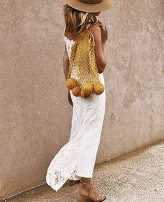 Mango string shopper