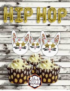 Hipster Bunny Rabbit Easter Printables   Mandy's Party Printables