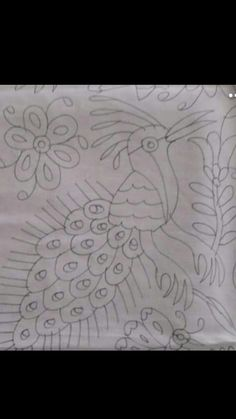 Diy Otomi Embroidery, Mexican Embroidery, Embroidery Patterns, Hand Embroidery, Coloring Sheets, Coloring Pages, Mexican Textiles, Fabric Paint Designs, String Art Patterns