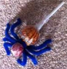 candy spider Spider, Creatures, Candy, Crafts, Sweet, Spiders, Sweets, Candles, Crafting