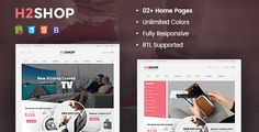 Download Nulled H2shop  Multipurpose Responsive Prestashop Theme For Free
