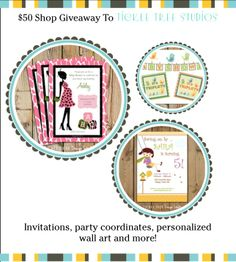 GIVEAWAY - $50 shop credit to Tickle Tree Studio. http://stylememodern.blogspot.ca/