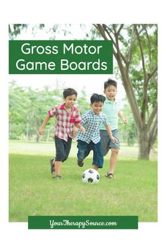 Gross Motor Board Games digital download includes 12 no-prep games to print and play to encourage gross motor skill development throughout the year. Are your students tired of routine gross motor practice? Add these FUN games to your toolkit to keep children active and engaged while improving their skills at the same time! This packet was created by Regina Parsons-Allen, a pediatric certified Occupational Therapy Assistant. Certified Occupational Therapy Assistant, Pediatric Physical Therapy, Gross Motor Activities, Gross Motor Skills, Pediatrics, Fun Games, Board Games, Tired, Physics