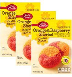 Orange & Raspberry Sherbet Cookie Mix - 3 of 12.5 oz Betty Crocker http://www.amazon.com/dp/B00VQJWA7K/ref=cm_sw_r_pi_dp_PejFvb0AGN481