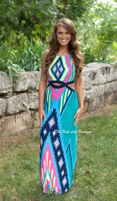 Girls Night Out Maxi - The Pink Lily Boutique