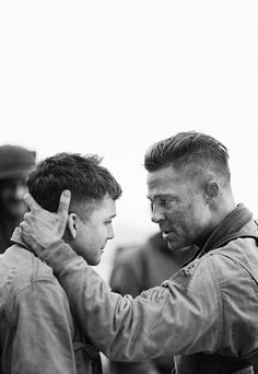 Fury (2014) starring Brad Pitt. this movie is amazing