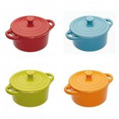 Round Mini Casserole Dishes