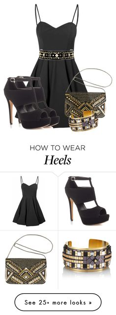 """Delicate Balance"" by ljbminime on Polyvore featuring Glamorous, ALDO, Tory Burch, Avenue and HIRSCHELL"
