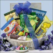Butterflies and blooms easter gift basket this delightful spring sugar free easter gift basket negle Images