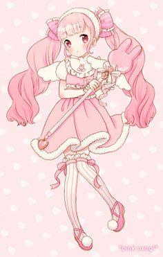 e-shuushuu kawaii and moe anime image board Art Kawaii, Manga Kawaii, Cute Anime Chibi, Cute Kawaii Drawings, Kawaii Chibi, Kawaii Anime Girl, Anime Art Girl, Anime Girl Pink, Manga Anime