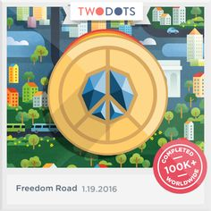 I discovered the Pendant of Peace! Join the adventure now - playtwo.do/ts #TwoDots