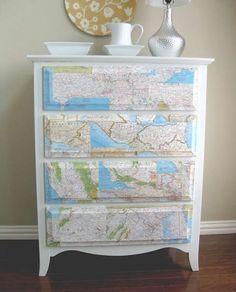 mille e una idee per rinnovare vecchi mobili | dressers makeover ... - Rinnovare Cassettiera Malm