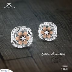 Elegance redefined with #diamonds, Buy Soulful #earrings for her. 5% #Cashback…