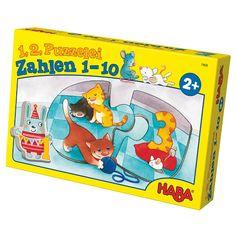 HABA 1,2 puzzle- čísla 1-10 7468