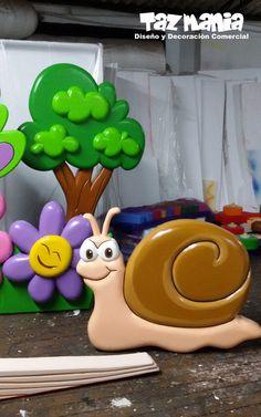 Figuras y elementos decorativos decoraci n escenograf a graduacion jard n infantil tim garden - Elementos decorativos para jardin ...